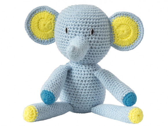 Esther the Elephant Free Amigurumi Pattern | Jess Huff | 436x581