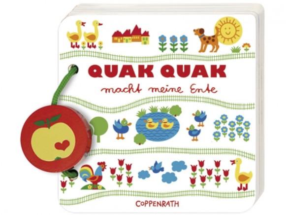 """Quak Quak macht meine Ente"" by Coppenrath"