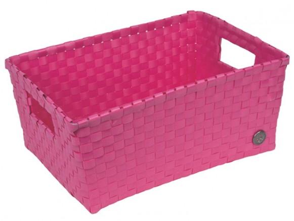 Handed By basket Bibbona pink