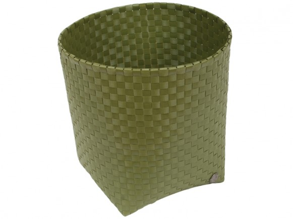 Handed By waste paper basket Padova in army green
