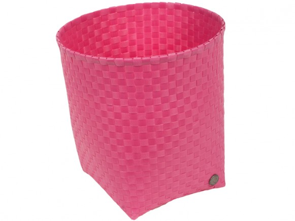 Handed By waste paper basket Padova in pink
