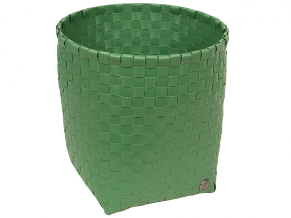 """Palm green waste-paper basket """"Glory"""" by Handed By"""