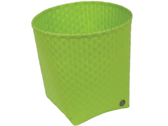 Handed By waste paper basket Padova in apple green