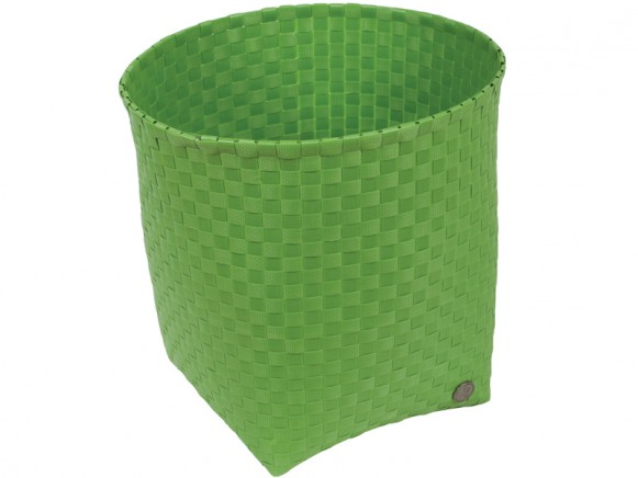 Handed By waste paper basket Padova in palmgreen