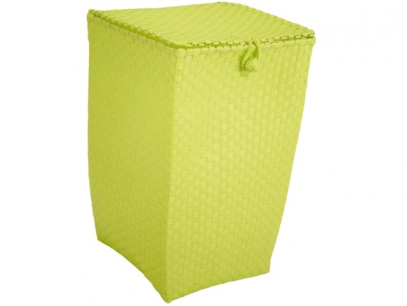 Laundry basket in apple green by Handed By
