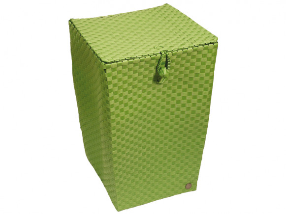 Laundry basket in palm green by Handed By
