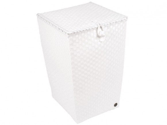 Laundry basket in white by Handed By