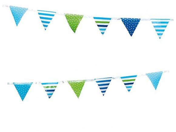 JaBaDaBaDo party flagline BLUE
