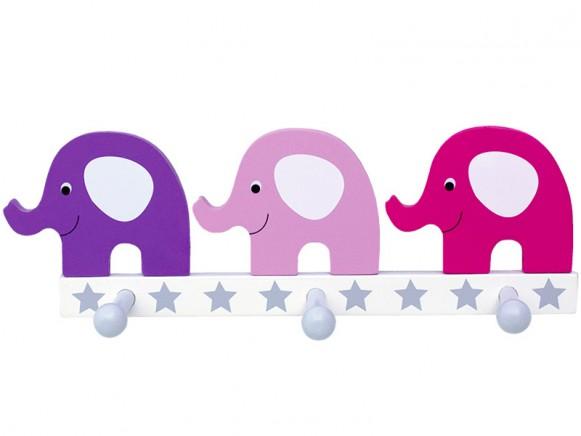 JaBaDaBaDo clothes hanger elephant pink