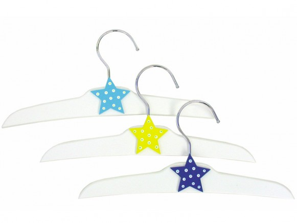 JaBaDaBaDo clothes hanger with star