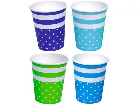 JaBaDaBaDo party cups blue