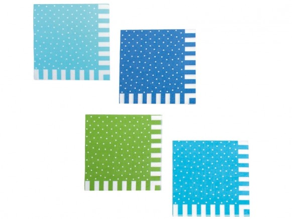 JaBaDaBaDo party napkins BLUE
