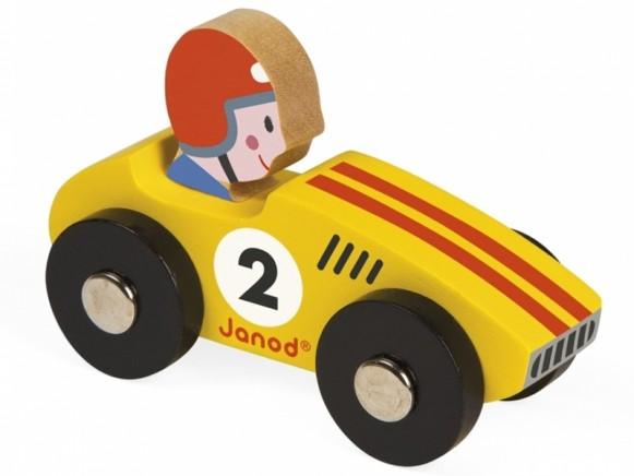 Janod Racing Car YELLOW