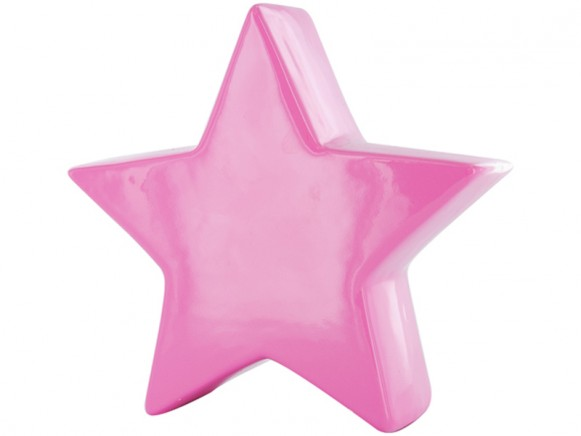 Money bank star in pink by J.I.P.