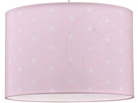 Kids Concept hanging lamp starchild pink
