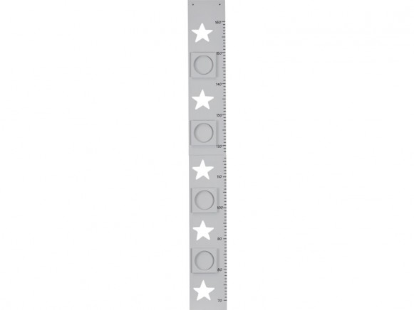 Kids Concept measurement stars grey