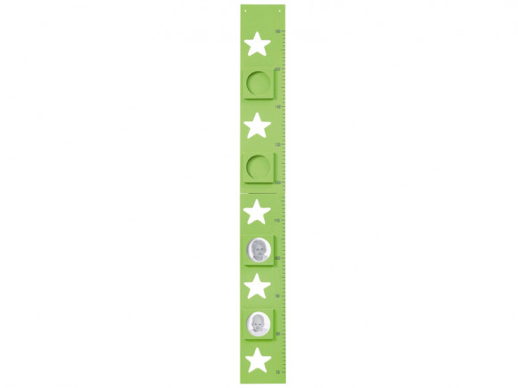 Kids Concept measurement stars green