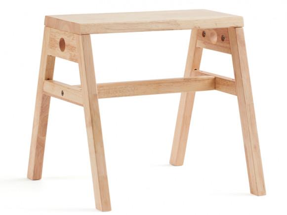 Kids Concept Stool SAGA natural wood