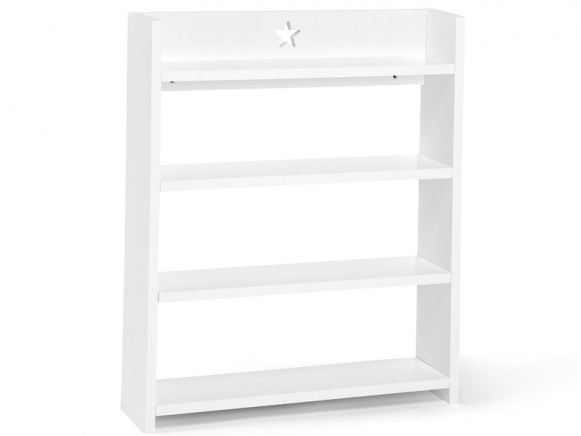 Kids Concept Large Wall Shelf STAR white
