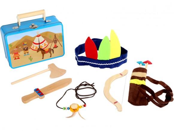 Suitcase Indian Set