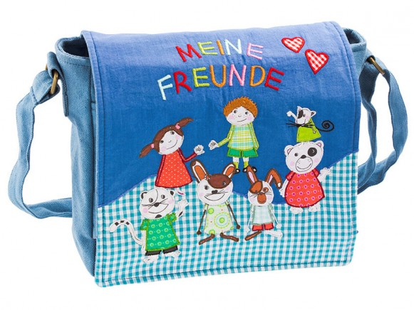 Kindergarten bag with friends by Wendekreis