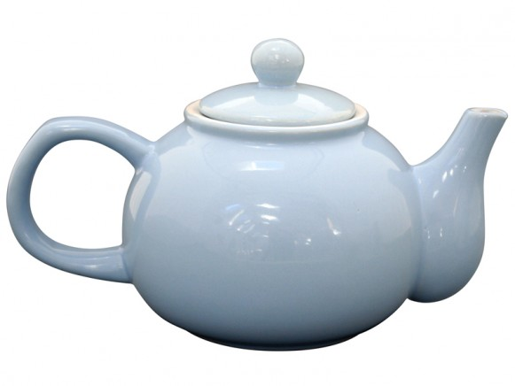Krasilnikoff teapot brightest star baby blue