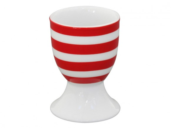 Krasilnikoff egg holder Stripes red