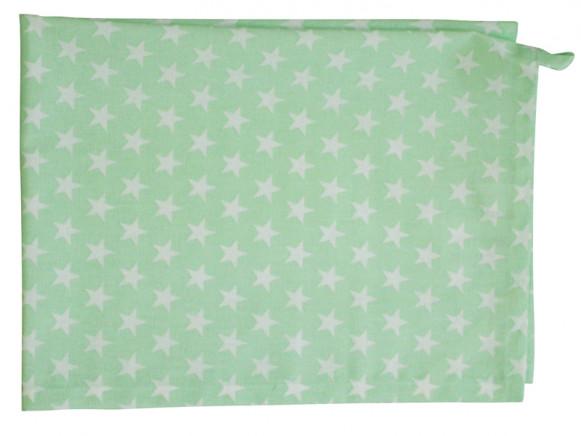 Krasilnikoff tea towel small star mint