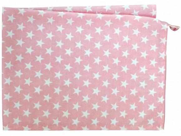 Krasilnikoff tea towel small star pink