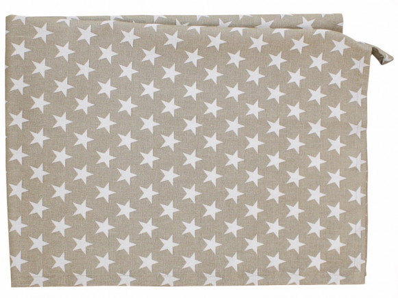 Krasilnikoff tea towel small star sand