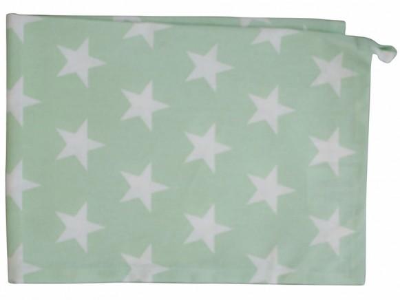 Krasilnikoff tea towel stars minty green