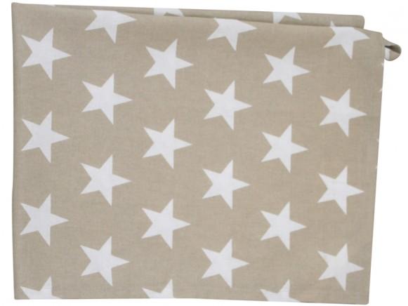 Krasilnikoff tea towel star sand