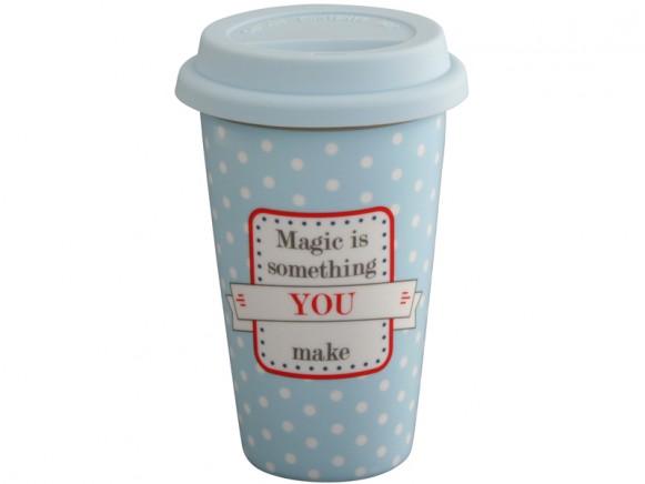Krasilnikoff Travel Mug Magic is something you make