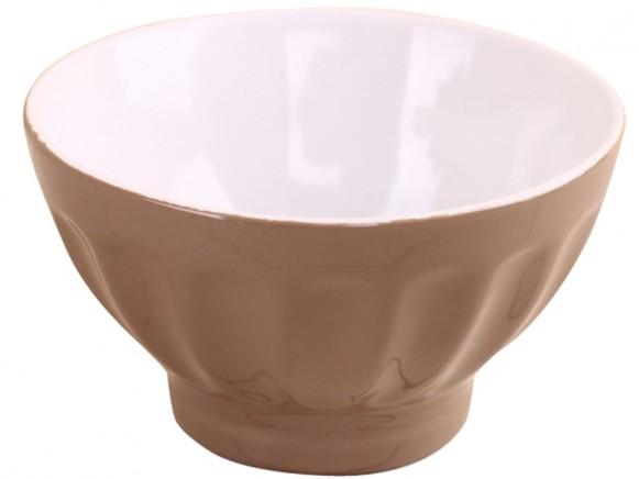 Krasilnikoff retro bowl taupe