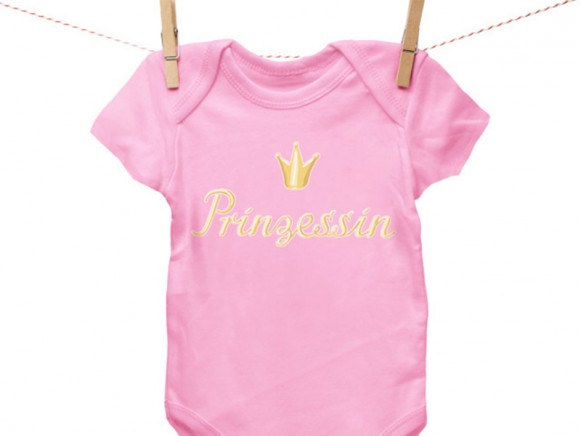 Iron-on patch Prinzessin by krima & isa