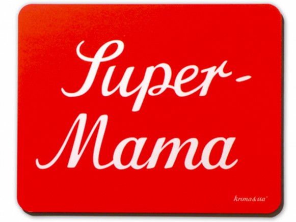 krima & isa Super Mama mouse pad