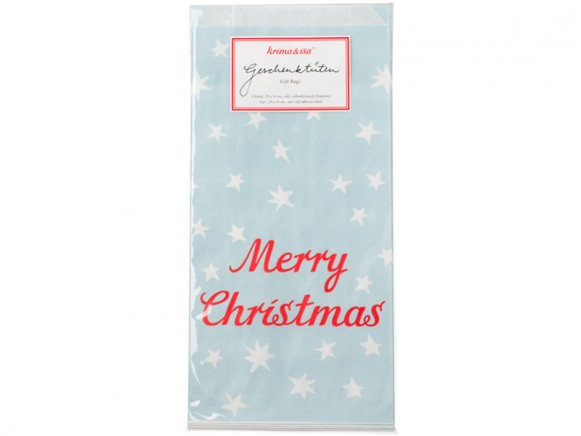 krima & isa gift bags Merry Christmas