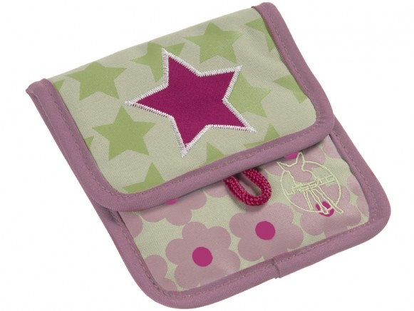 Lässig mini neck pouch starlight magenta