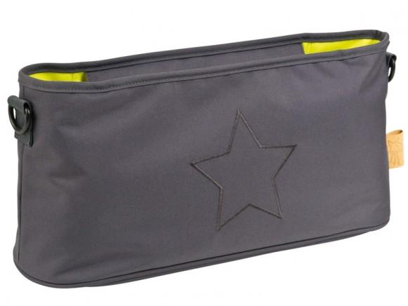 Lässig Buggy organizer STAR dark grey