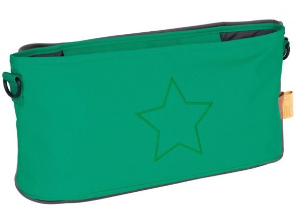 Lässig Buggy organizer STAR green