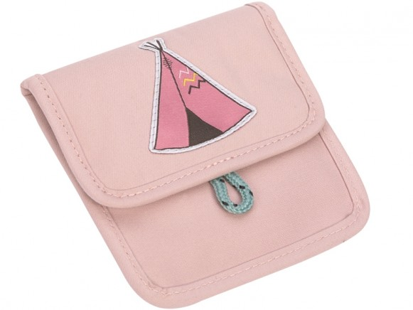 Lässig Mini Neck Pouch TIPI light pink