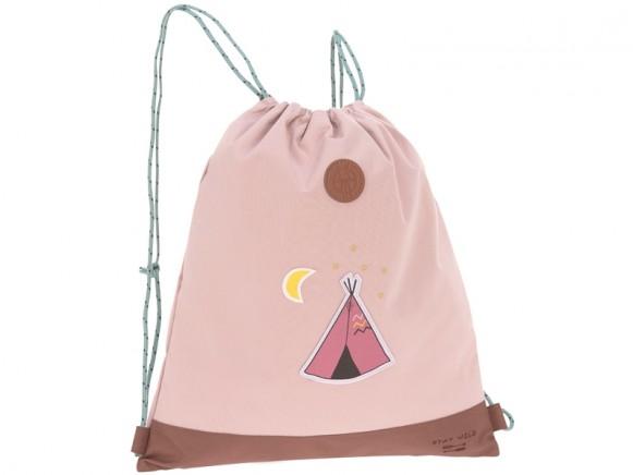 Lässig Mini Drawstring Bag TIPI light pink