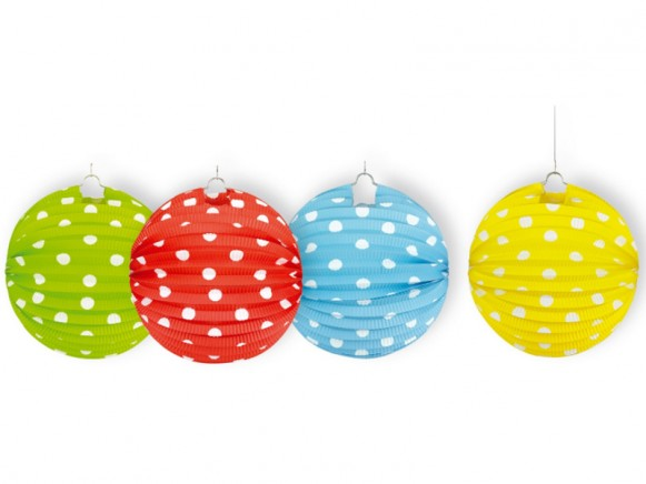 Lampion with funny dots by Spiegelburg