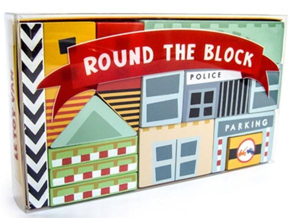 Le Toy Van building blocks CITY CUBES