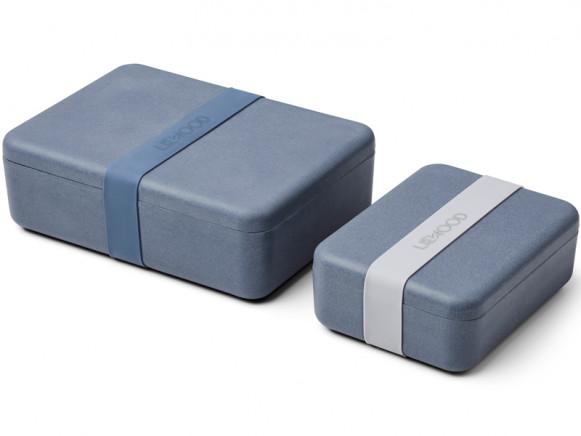 LIEWOOD Lunchbox Set BRADLEY foggy blue