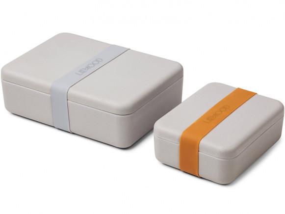 LIEWOOD Lunchbox Set BRADLEY grey