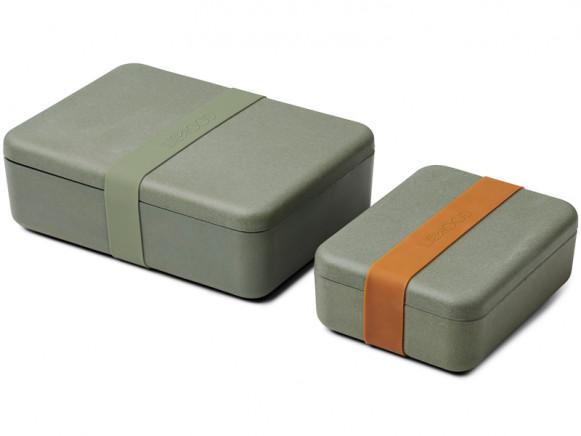 LIEWOOD Lunchbox Set BRADLEY faune green