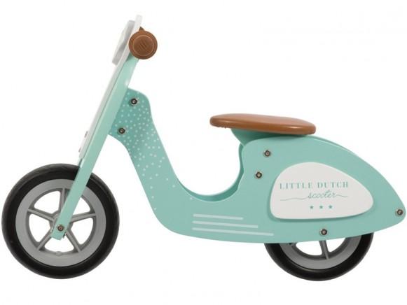 Little Dutch wooden scooter MINT