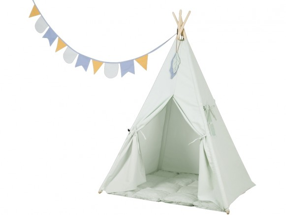 Little Dutch Teepee MINT GREEN