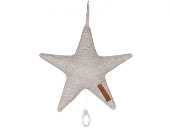 Little Dutch Music Box STAR grey